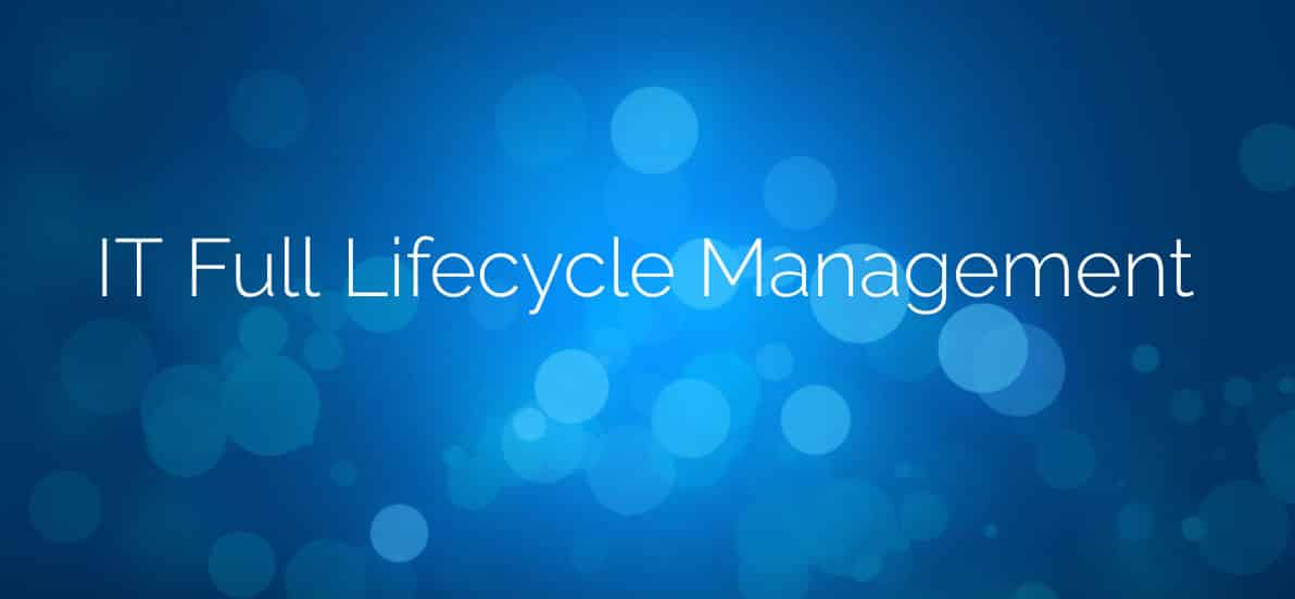 IT Full Lifecycle Management - RPA Driven technology platform as a service to enable business agility